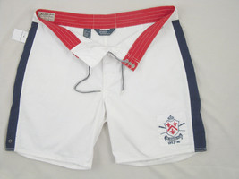 NEW! NWT! Polo Ralph Lauren Bleecker White Swim Shorts (Bathing Suit)!  36 - $49.99