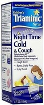 Children TRIAMINIC Syrup Night Time Cold & Cough Relief Itchy Throat Run... - $7.99
