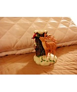 DEAN GRIFF -  SILVESTRI, CHARMING TAILS  STAG CANDLEHOLDER - RARE - $74.24
