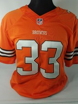 Nike On Field Cleveland Browns Jersey 33 Sewn Stiched Trent Richardson Orange M - $28.05