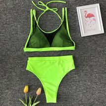 US Women Summer Swimwear Bikini Set Pushup Padded Bra Bathing Suit Swimsuit Lot image 9