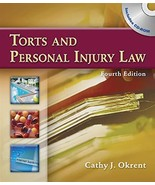 Torts and Personal Injury Law Okrent, Cathy - $19.79