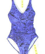 SPEEDO Women's 1 PIECE SWIMSUIT Swimwear  Purple  Sz 6 - $22.09