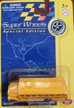Super Wheels Special Edition School Bus Die Cast Car, new - $5.95