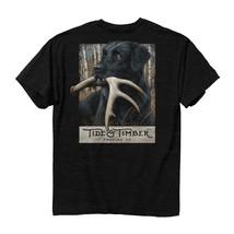 NEW TIDE AND TIMBER POCKET T SHIRT Comfort Color LAB SHED DEER T Shirt - $24.74+