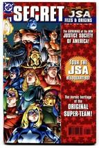 JSA Secret Files and Origins #1-1st Hawkgirl (Kendra Saunders) Atom-Smas... - $44.14