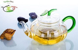 VOMOSSY 1x 20.3fl.oz/600ml Pumpkin Glass Tea Pot - $35.95