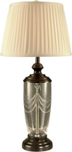 Table Lamp DALE TIFFANY 1-Light Oil Rubbed Bronze Crystal - $249.99