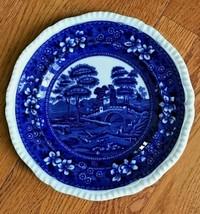 Antique Copepland Spode's Tower Flow Blue Dinner Plate - $19.79