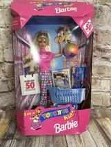 NRFB 1997 I'm a Toys R Us Kid Barbie 50th Anniversary Blonde #18895 Box ... - $29.30