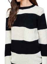 Women's Oversized Long Sleeve Colorful Chunky Knitted Casual Pullover Sweater image 13