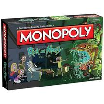 Monopoly Rick & Morty Edition Board Game Adult Swim TV Series USAopoly  - $46.88