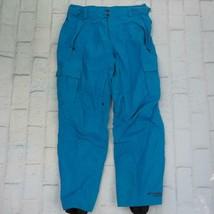 Columbia Snowpants Ski Pants Snowboard Insulated Titanium Blue Mens Size L - $29.69