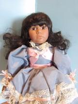 "Seymour Mann Connoisseur Collection doll; Chloe"" black african american,... - $19.80"