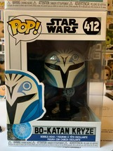 New Funko POP unopened Bo-Katan Kryze Star Wars 412 perfect box  - $14.00