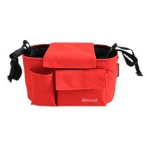 "Hot Sale Baby Stroller Organizer Pushchair Storage Bag 11.8""x5.9""x6.3""RED"