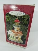 1998 Hallmark Keepsake Ornament Lighthouse Greetings Magic Collector's S... - $20.79