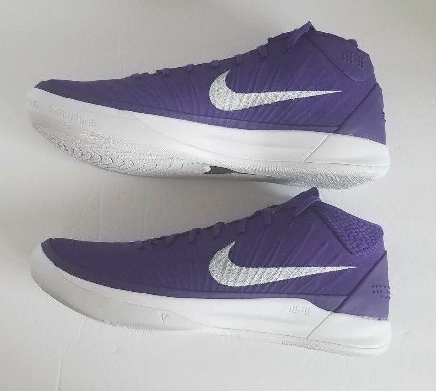 official photos af374 1cfc6 Nike Mens Kobe AD TB PROMO 942521-502 Lakers Purple Basketball Shoes