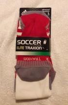 adidas soccer elite climacool traxion socks size L Men's 9-13, Women's 1... - $14.85