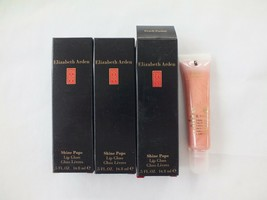 Lot Of 5 Elizabeth Arden Shine Pops Lip Gloss Peach Parfait - Fs - New In Box - $24.74