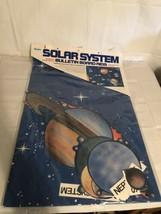 NOS Vintage SOLAR SYSTEM BULLETIN BOARD AIDS. Bilingual. Teachers Guide ... - $12.59