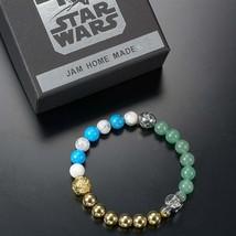 JAM HOME MADE x Disney Store Japan Star Wars Onyx Bracelet Yoda R2-D2 C-... - $361.35