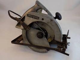 "Vintage Craftsman 7"" Circular Saw 2 HP.6000 rpm Model 31527802 Fits 7 1/... - $29.70"