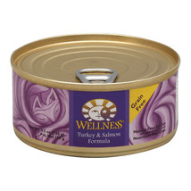 Wellness Pet Products Cat Food - Turkey and Salmon Recipe - Case of 24 -... - $75.43
