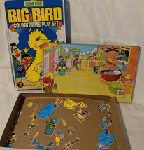 Vtg Sesame Street Big Bird Colorform Play Set - $8.59