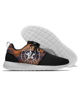 Men/Women Baseball Custom Houston Astros Lightweight Running/Athletic Shoes - $67.99