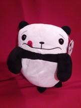 "10"" Awkward Panda Clumsy Embarrassing Cute Black & White Stuffed Anima... - $28.24"