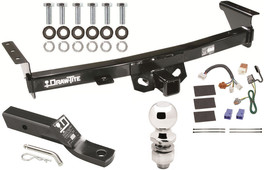 2009-2012 SUZUKI EQUATOR COMPLETE TRAILER HITCH PACKAGE W/ WIRING KIT - $220.67