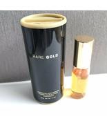 AVON RARE GOLD EAU DE PARFUM SPRAY .5 fl oz 15 ml & Body Powder LOT OF 2... - $19.79