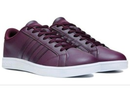 Adidas Neo Baseline merlot women purple size 8 NEW - $47.49