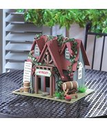 BIRDHOUSE: Nappa Valley COTTAGE WINERY Bird House w/ Cleanout Hole NEW - $23.86