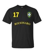 Number on BACK VOTE 17 Bolsonaro Presidente 2018 T-shirt Black Navy S-5XL - $20.74