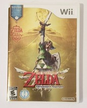 The Legend of Zelda Skyward Sword 2011 Nintendo Wii CIB Complete w/ Soun... - $33.61