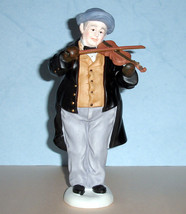 "Lenox Victorian Carolers Violin Player 9.5"" #827008 New - $64.90"