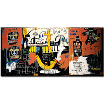 """Jean-Michel Basquiat """"The Nile"""" HD print on canvas large wall picture 48... - $32.66"""