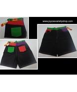Men's Board Jean Shorts Black Multi-Color Pockets Sizes 40, 38 36 34 32 ... - $11.99