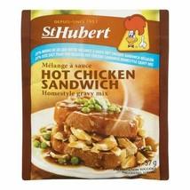 12 PACK St Hubert Hot Chicken Sandwich 25% Less Salt Gravy Sauce Mix 52g FRESH - $29.45