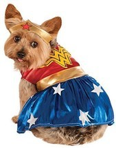 Rubie's, costume per cani di Wonder Woman, taglia grande (- Small) - €34,91 EUR