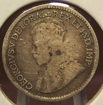 KM#22 1918 Canadian Silver 5c Coin #0314 - $5.65