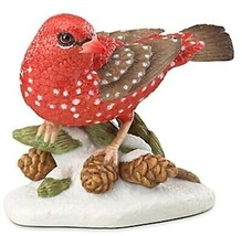 Lenox Strawberry Finch Christmas Bird 2016 Hand Painted Limited Edt. 857216 New - $52.90