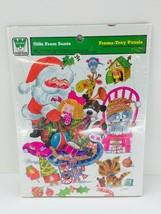 1974 Santa Claus Toys Christmas Whitman Frame Tray Puzzle - $14.99