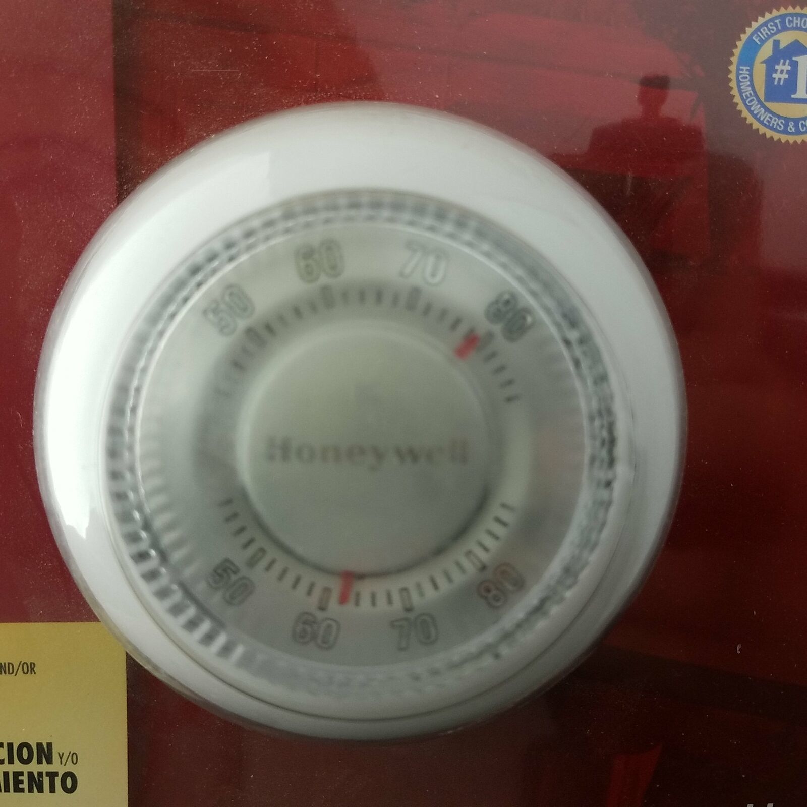 Honeywell Round Heating/Cooling Thermostat and 50 similar items on