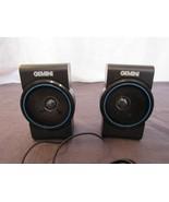 Gemini AS596 Mini Micro Stereo Speaker System Pair Set iPod Portable Rad... - $18.93