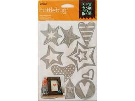 Cricut Cuttlebug Stars and Hearts Die Set #2003466