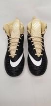Nike Force Savage Elite Men Football Cleats Black/Gold  Size 12 AJ6606-002 FW4 - $24.99