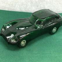 Avon Vintage Car Cologne Decanter Green Jaguar Wild Country Aftershave 5... - $13.81
